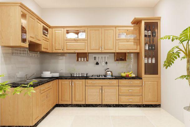 bài trí không gian bếp