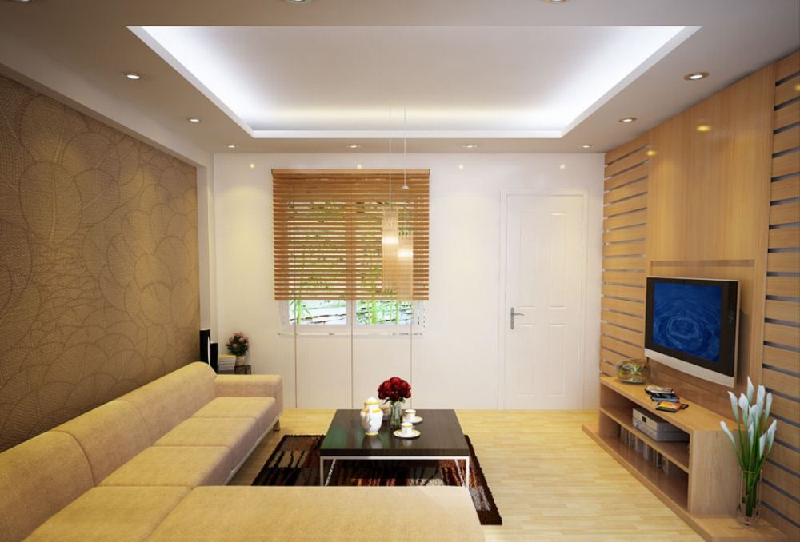 Nên chọn gam màu sáng cho phong thủy trần nhà