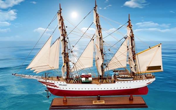 Lưu ý hướng bài trí thuyền buồm phong thủy