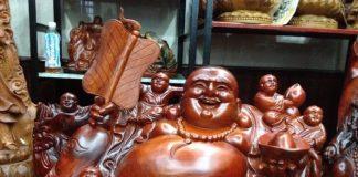 Bài trí tượng phật di lặc trong nhà giúp cầu tài lộc may mắn