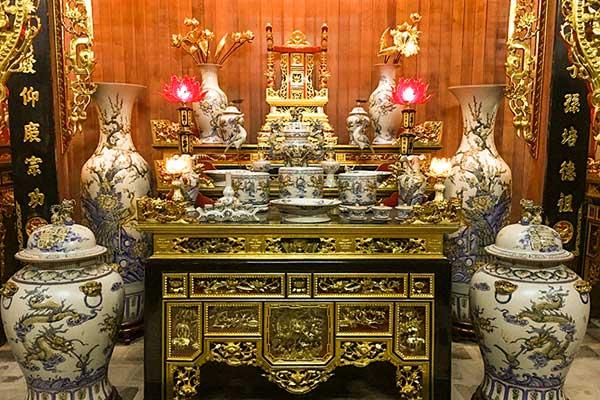 Giải mộng giấc mơ thấy bàn thờ gia tiên