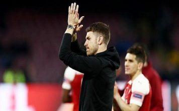 Lần ra sân cuối cùng của Ramsey với Arsenal