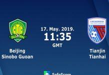 Soi kèo Beijing Guoan vs Tianjin Tianhai, 18h35 ngày 17/05