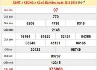 Dự đoán xổ số đà nẵng ngày 22/05 chính xác 100%
