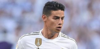 James Rodriguez vẫn muốn tới Napoli tái ngộ với Ancelotti
