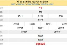 Soi cầu KQXS Đà Nẵng 25/4/2020 - KQXSDNG thứ 7