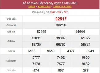 Soi cầu XSMB 18/6/2020 chốt lô số đẹp miền Bắc thứ 5