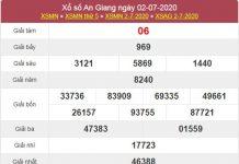 Soi cầu KQXS An Giang 9/7/2020 cùng các cao thủ