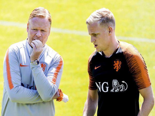 Chuyển nhượng trưa 21/8: Barca đàm phán với Van de Beek