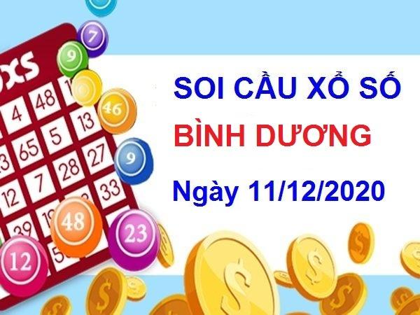 Soi cầu XSBD ngày 11/12/2020