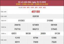 Soi cầu XSMB 21/12/2020 tham khảo cặp số may mắn thứ 2