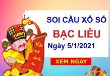 Soi cầu XSBL ngày 5/1/2021
