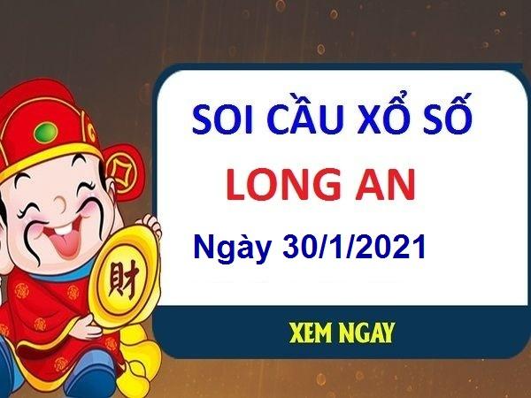 Soi cầu XSLA ngày 30/1/2021