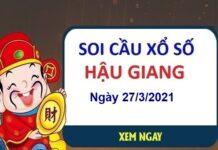Soi cầu XSHG ngày 27/3/2021
