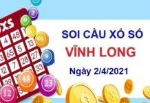 Soi cầu XSVL ngày 2/4/2021