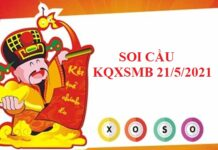 Soi cầu KQXSMB ngày 21/5/2021 hôm nay