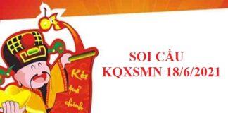Soi cầu lô vip KQXSMN 18/6/2021 hôm nay