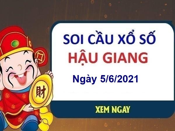 Soi cầu XSHG ngày 5/6/2021