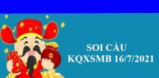 Soi cầu thống kê XSMB 16/7/2021
