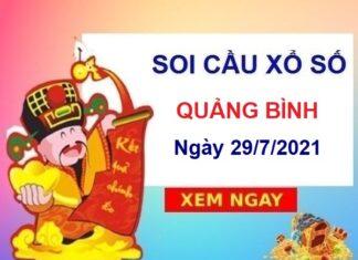 Soi cầu XSQB ngày 29/7/2021
