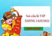 Soi cầu lô VIP XSDNG 14/8/2021