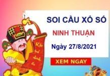 Soi cầu XSNT ngày 27/8/2021