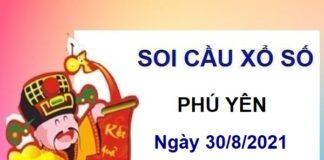 Soi cầu XSPY ngày 30/8/2021
