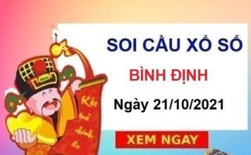 Soi cầu xổ số Bình Định ngày 21/10/2021