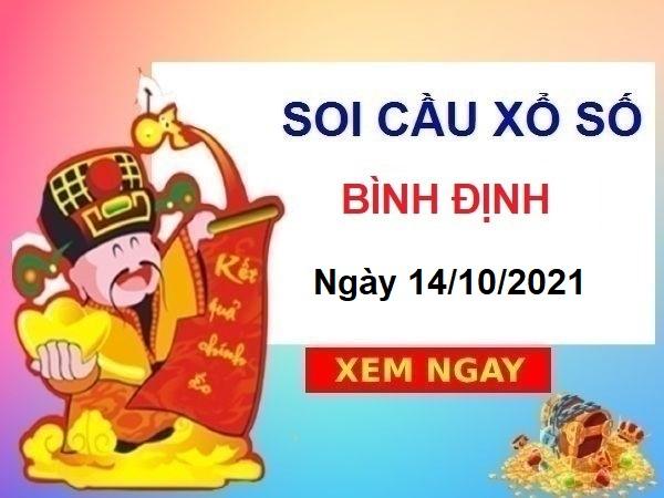 Soi cầu XSBDI ngày 14/10/2021